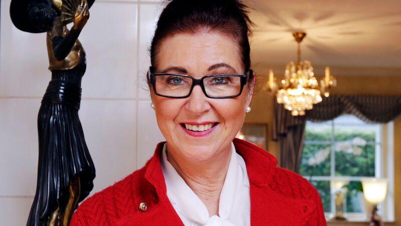 Städproffset Marléne Eriksson.