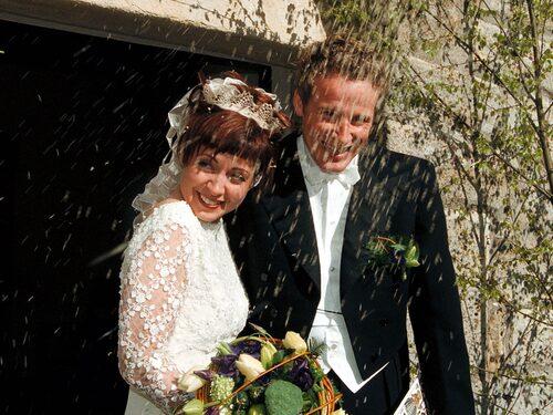 Pernilla Månsson Colt gifte sig med maken Stellan 1999.