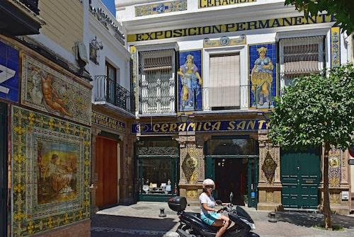 Cerámica Santa Ana är en klassisk butik med anor från 1600-talet.