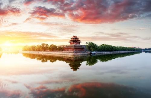 Ett av världens mest besökta turistmål. Över 15 miljoner personer besöker Förbjudna staden i Kina varje år.