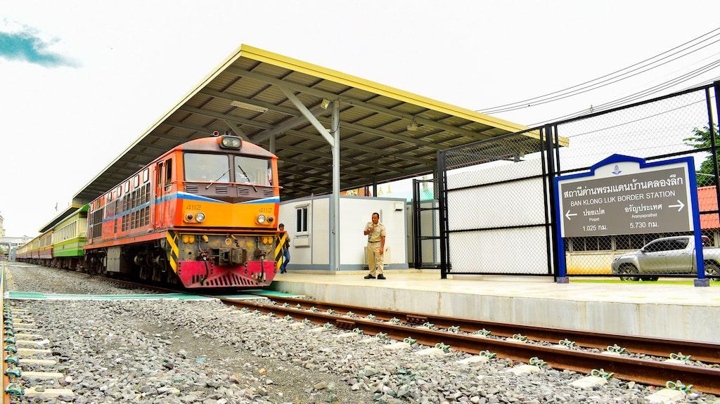Stationen i Ban Klong Luk, Kambodja.