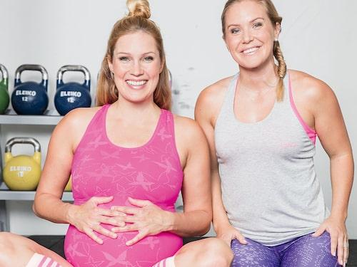 När Jessica Almenäs var gravid med sitt tredje barn bestämde de sig för att skriva boken.