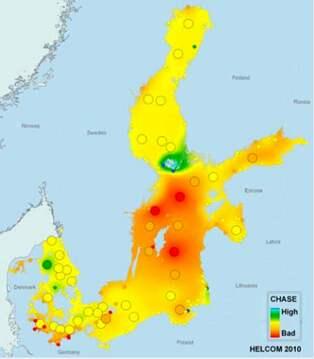 Har Ar Ostersjons Varstfororenat Unik Karta