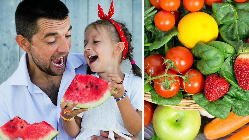 Världshälsoorganisationen (WHO) rekommenderar fem portioner (400 gram) frukt och grönt om dagen men brittiska forskare går längre än så. I en ny studie säger de att 10 portioner frukt och grönt om dagen kan göra att vi lever längre.