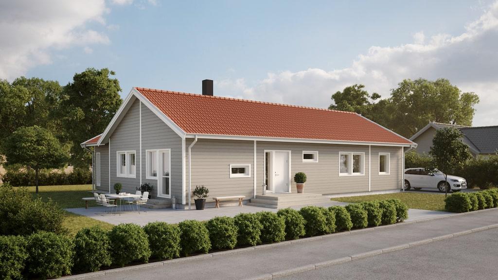 Villa Vetlanda från Smålandsvillan.