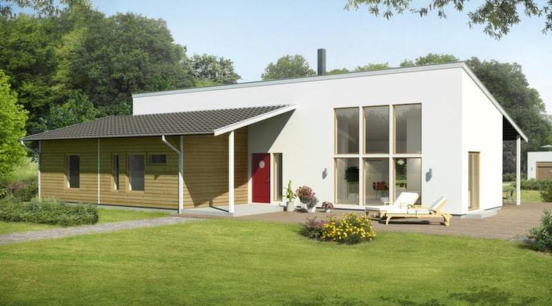 Brännås<br>TYP: 1-planshus på 134 kvadratmeter med fem rum och kök.<br>PRIS: 2 492 000 kronor 18 597 kronor kvadratmetern<br>HUSFÖRETAG: Götenehus gotenehus.se