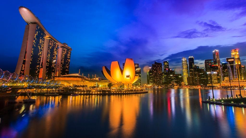 Flygresan kommer att gå mellan Singapore och New York.