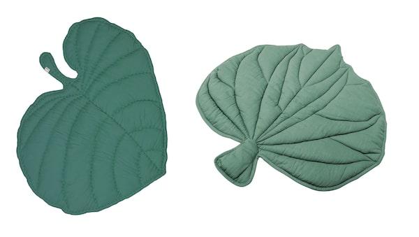 Vänster: Leaf Blanket, Nofred. Höger: Folium, Lagerhaus.