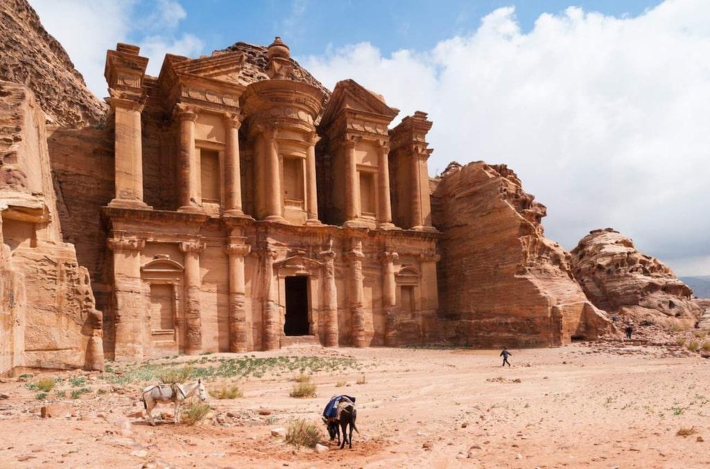 <p>Petra, Jordanien.</p>