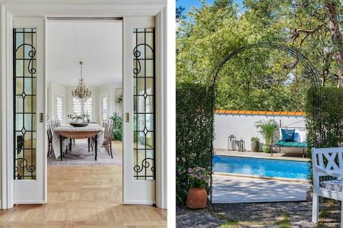 Villan från 1930 inger en medelhavskänsla och priset var 22 950 000 kronor.