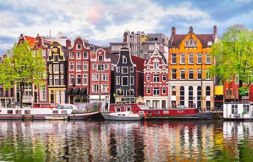 Fira kärleken i romantiska Amsterdam.