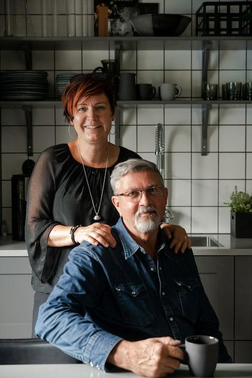 Marica och Tomas träffades mitt i livet, och i samma veva som Tomas gick i pension öppnades möjligheterna för en flytt.