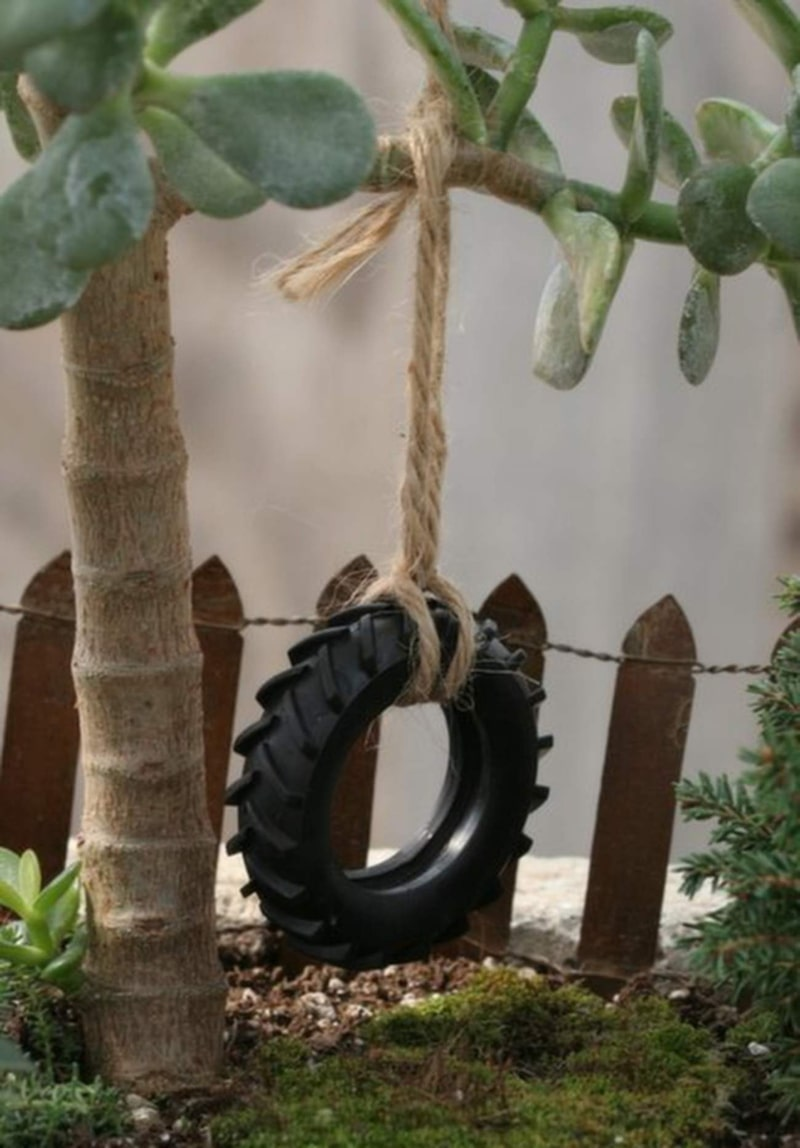 Minigunga i miniträdgård. Hur sött får det vara?