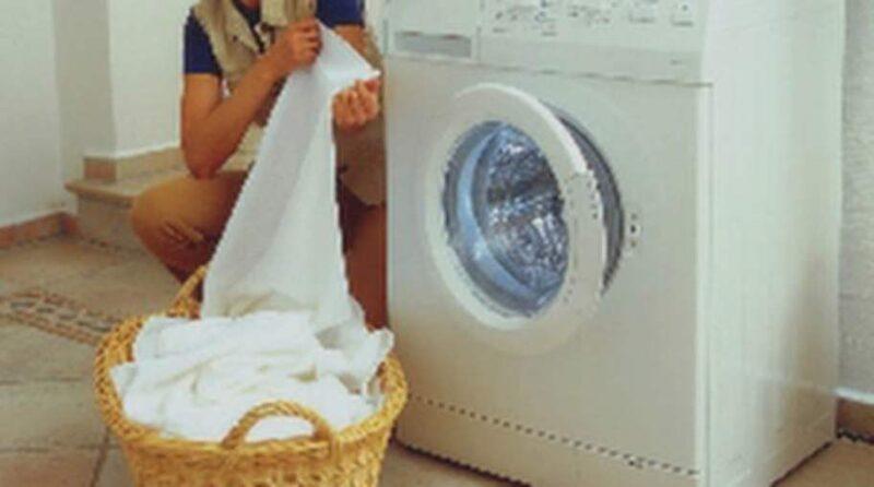 Ibland behöver du även tvätta själva tvättmaskinen.