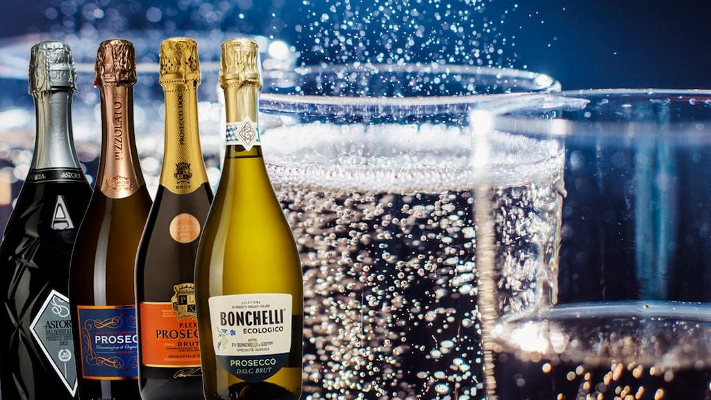 Prosecco är Sveriges mest populära mousserande vin.