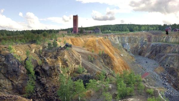 Falu koppargruva är bättre än Borlänge.