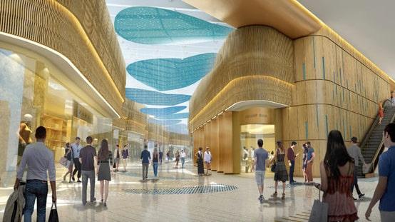 Hard Rock Hotel ska även erbjuda stora shoppingmöjligheter.