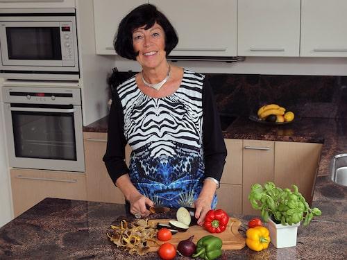 """Anette Borg nådde sin målvikt på sex veckor. """"Jag följer inget kostprogram slaviskt längre men fortsätter använda appen och testar nya recept"""", säger Anette."""