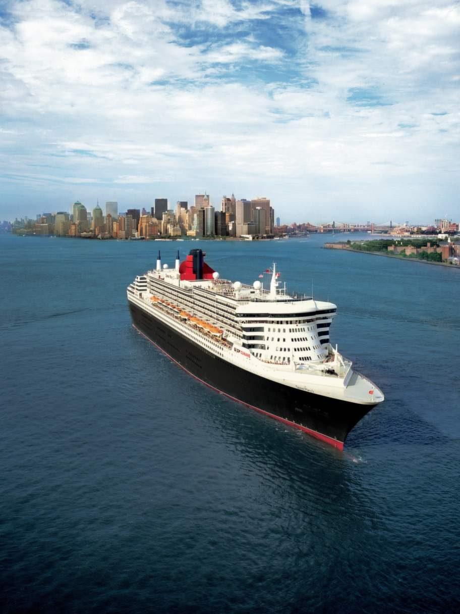 """Bästa Atlantkryssningen med """"Queen Mary 2""""."""