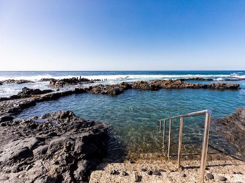 Salinas klippooler i Agaete på Gran Canaria.