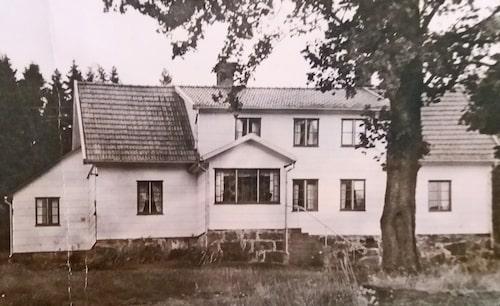 Bild från 1945 då huset senast renoverades.