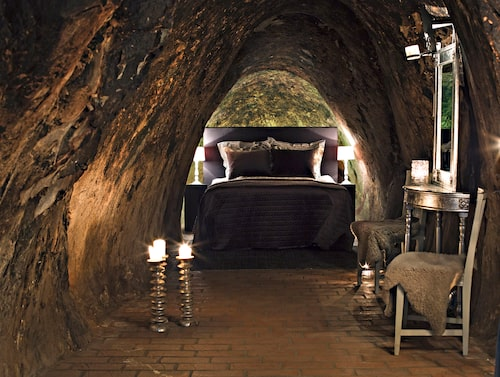 I hotellnatten ingår även en guidad visning av gruvan.