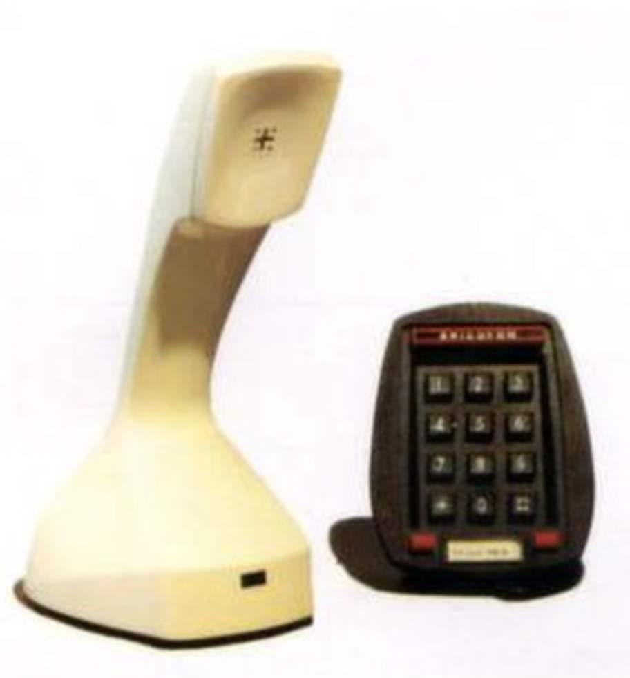 Kobratelefonen hette först Ericofon. Här Modell 700 från 1976 som enbart tillverkades i Sverige. Kobran har utnämnts till en av 1900-talets bästa industridesigner av Museum of modern art i New York.