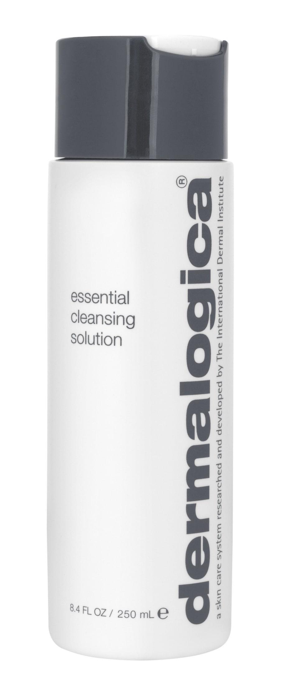Rengör.<br>Rengöringsmjölk. Essential cleansing solution från Dermalogica, 250 ml, 365 kronor.
