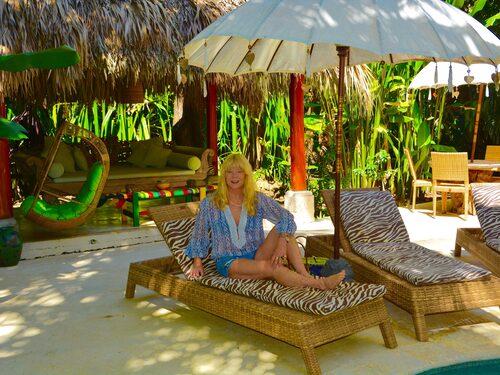 Anna Wachtmeister bor i Santa Teresa året runt och hyr ut fyra lyxiga villor.