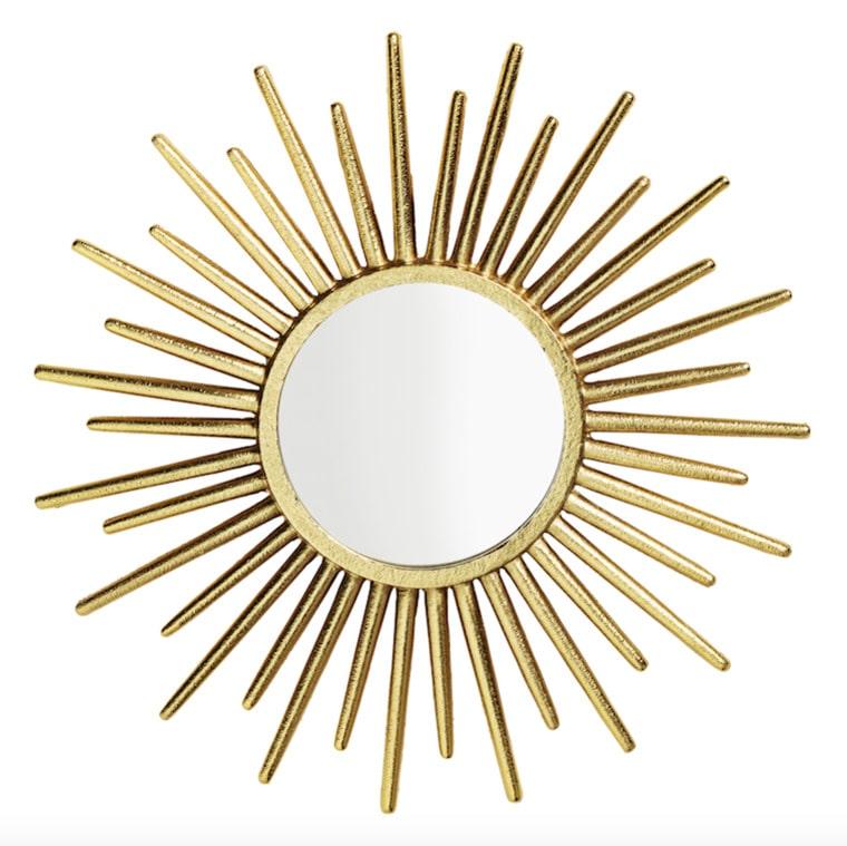 """En riktigt """"solig"""" spegel för 299 kronor. Finns också i en annan variant för 149 kronor."""