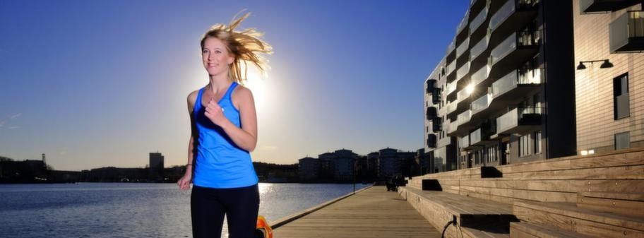Löpning är bra för hälsan. Men se till att inte gå ut för hårt om du är ovan.
