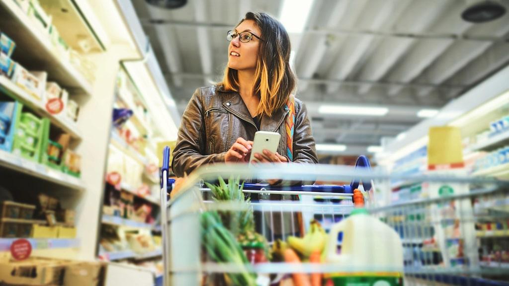Har du en tendens att spendera lite mer pengar än vad du hade tänkt i mataffären?