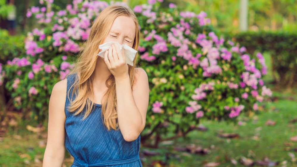 Det finns skillnader mellan kvinnor och män i hur de upplever besvär med pollenallergi, visar en undersökning.