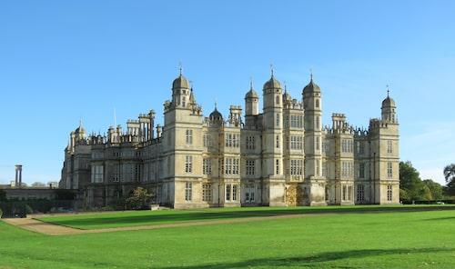 1500-talshuset Burghley House i Lincolnshire får hoppa in som Windsor Castle.