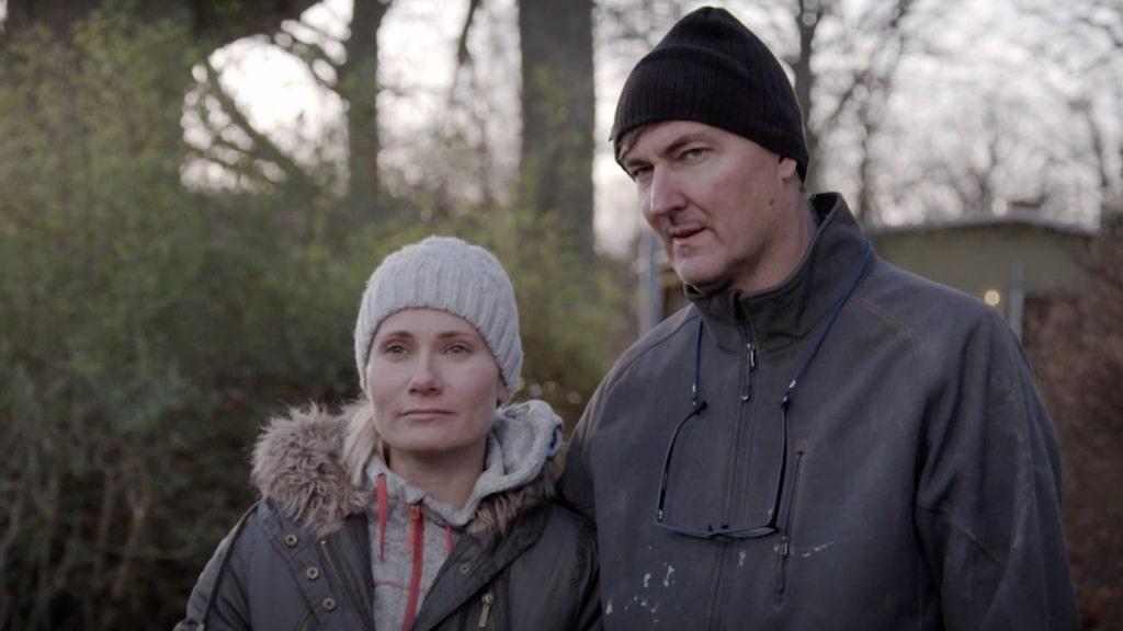 Agnes och Stefan Lätt ser till att sätta av tid för barnen under renoveringen.