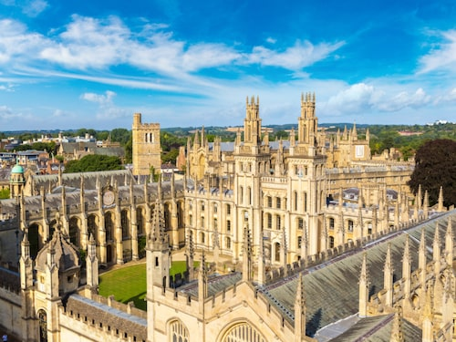 Oxfords magnifika universitetsområde är världsberömt.