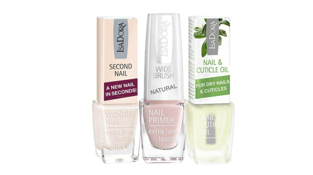 """<p>Nail &amp; cuticle oil, second nail, clear nail Gel 6-in-1, 79 kronor/styck, Isadora.</p><p><exp:icon type=""""wasp""""></exp:icon><exp:icon type=""""wasp""""></exp:icon><exp:icon type=""""wasp""""></exp:icon><exp:icon type=""""wasp""""></exp:icon><exp:icon type=""""wasp""""></exp:icon><br></p>"""