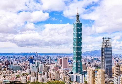 Taipei 101, ska påminna om en kinesisk pagod.