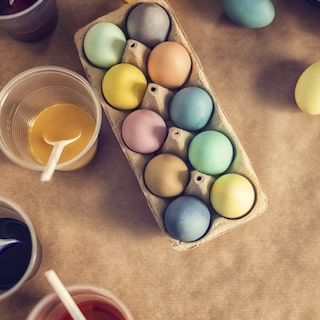 att göra med ägg