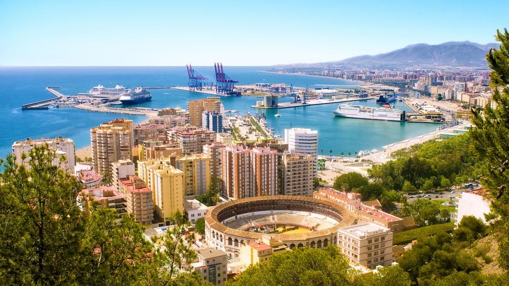 Den taxistrejk som bröt ut i Málaga på söndagen har nu utvidgats.