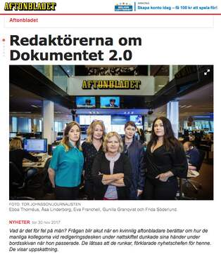 Aftonbladets lasare om drogmissbruk pa arbetsplatserna
