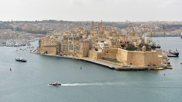 Valletta är Maltas magnifika huvudstad.