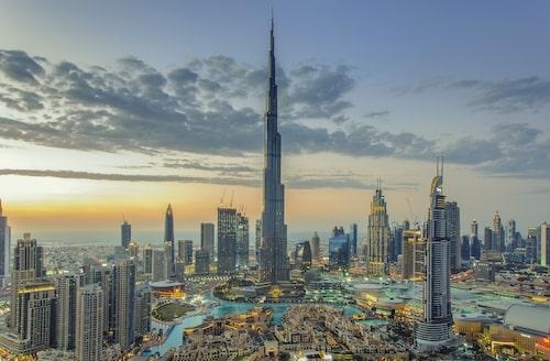 Burj Khalifa, världens högsta byggnad.