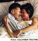 Liam Neeson som Kinsey och Laura Finney som hans fru i filmen om sexforskaren.