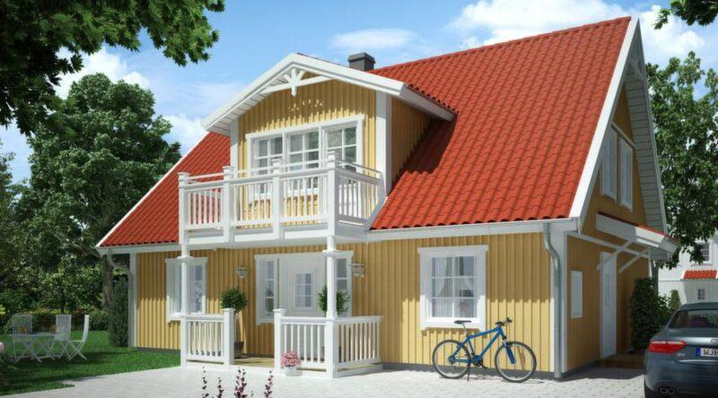 Villa Nordgården<br>TYP: 1,5-planshus på 137,4 kvadratmeter med 6 rum och kök.<br>PRIS: 2 190 000 kronor i Göteborgs- regionen, exklusive utvändig målning. 15 939 kronor kvadratmetern.<br>HUSFÖRETAG: Vårgårdahus vargardahus.se<br>