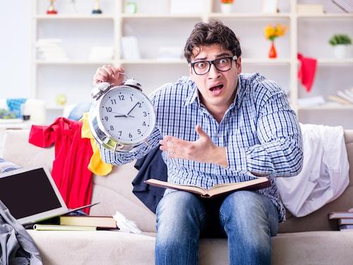 """10 minuter om dagen räcker för att hålla efter """"skämshögarna""""."""