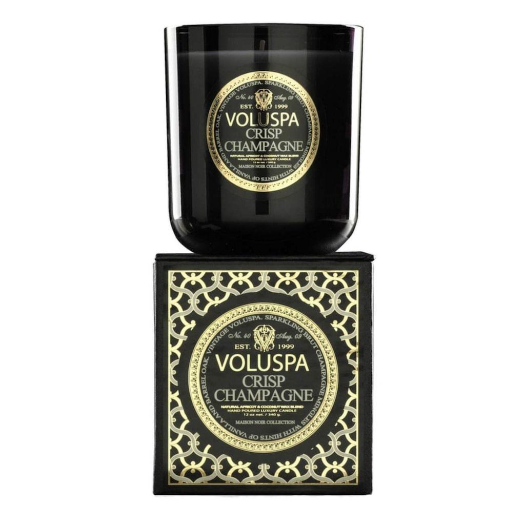 Lyx till hemmet med doftljus, från Voluspa i doften Crisp Champagne, 398 kronor, Royaldesign.se.