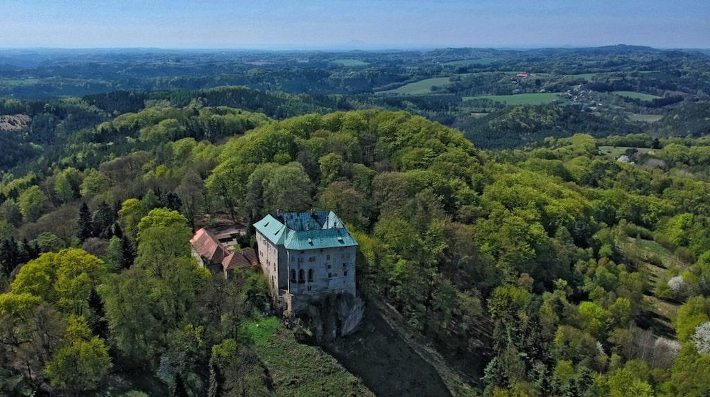 Slottet Houska, Tjeckien