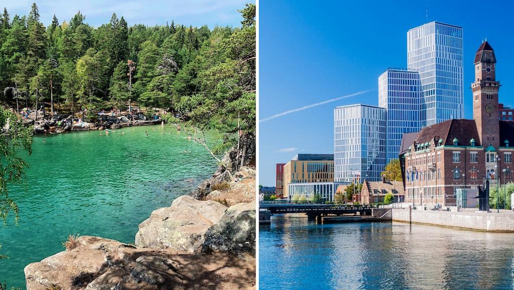 Djäknesundet eller Korfu? Malmö eller Berlin?