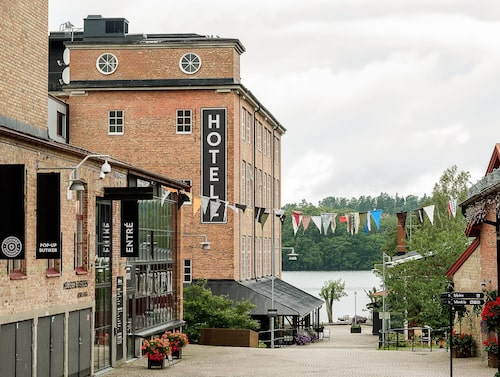 Nääs Fabriker – bomullsspinneri som blivit lyxhotell.